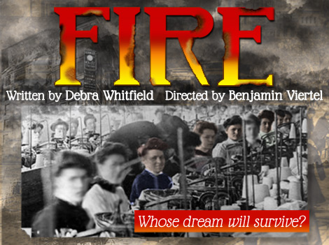 Fire the play by Debra Whitfield